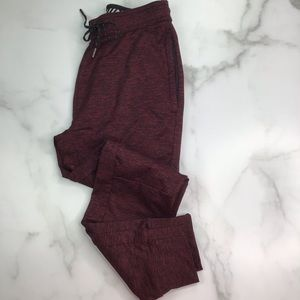 American Eagle Active Flex Joggers XS Burgundy